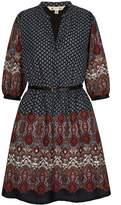 Yumi Tapestry Print Kaftan Dress