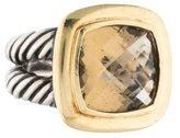 David Yurman Smoky Quartz Albion Ring