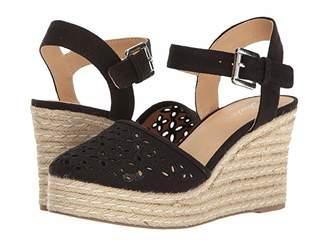 Skechers Turtledove (Black) Women's Wedge Shoes