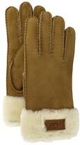UGG Turn Cuff Glove Chestnut S