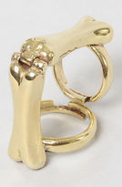 Mettle The Joint Bone Ring in Brass