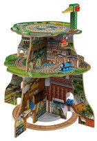 Thomas & Friends Fisher-Price Wooden Railway Up and Around Adventure Tower