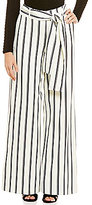 Lucy Paris Stripe Belted Pant