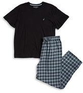 Nautica Plaid Pajama Set