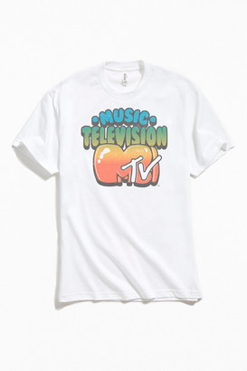 Urban Outfitters MTV Cartoon Gradient Tee