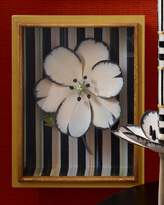 Mackenzie Childs MacKenzie-Childs White Tulip Shadow Box