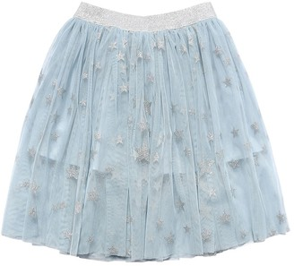 Stella McCartney Kids Stretch Recycled Poly Tulle Skirt
