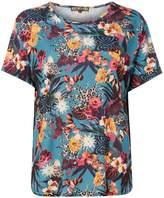 Biba Printed round neck t-shirt