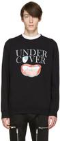 Undercover Black Logo Face Pullover