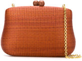 Serpui - straw clutch - women - Straw - One Size