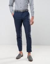 Jack & Jones Premium Suit Trousers In Linen