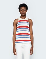Multi-Stripe Knit Tank