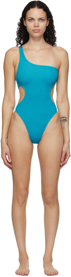BOUND by Bond-Eye Blue 'The Milan' One-Piece Swimsuit