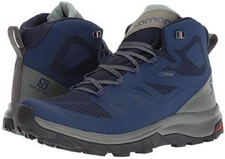 Salomon Outline Mid GTX (Black/Beluga/Capers) Men's Shoes