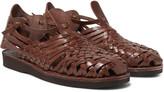 Yuketen - Crus Woven Leather Sandals