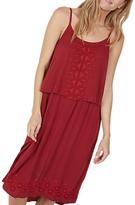Fat Face Poole Midi Dress, Red