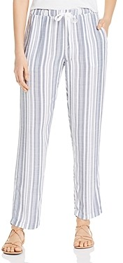 XCVI Ciara Striped Drawstring Pants