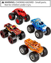 Mattel Hot Wheels Monster Jam Tour Favorites 4-Pack
