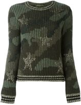 Valentino 'Camustars' jumper - women - Cotton/Viscose/Wool/Metallic Fibre - L