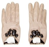 3.1 Phillip Lim Leather Embellished Gloves
