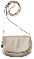 Aeropostale Womens Faux Leather Crossbody Bag