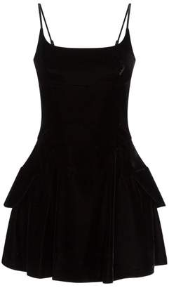 Alexander Wang Velvet Mini Dress