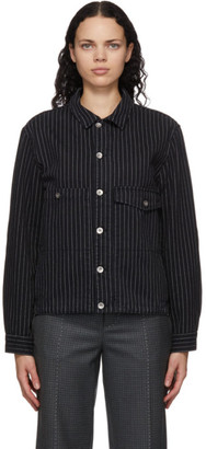YMC Black Pinstripe Pinkley Jacket