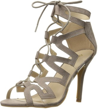 Qupid Women's Katana-04 Dress Sandal