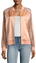 Opening Ceremony Gestures Lace Bomber Jacket