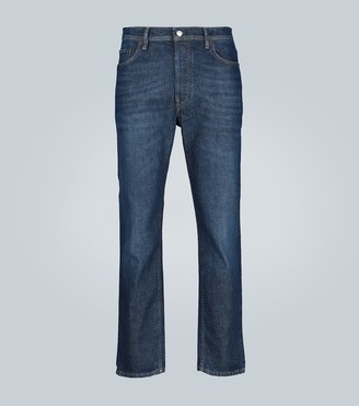Acne Studios River slim-fit high-waisted jeans