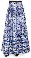 Kay Unger New York Floral-Print Ball Skirt