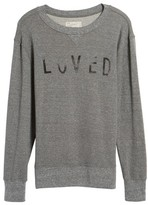 Current/Elliott Women's Heathered Slouchy Sweatshirt