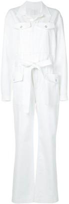 Dion Lee Double Belt Straight-Leg Jumpsuit