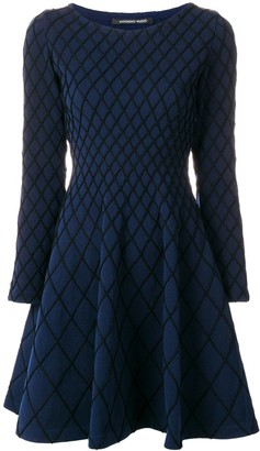 Valenti Antonino flared knitted dress