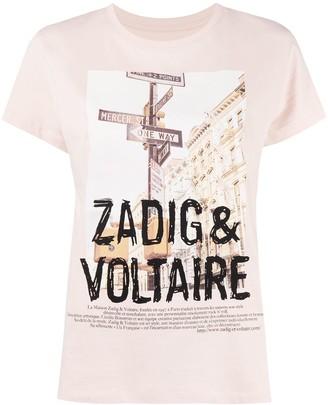 Zadig & Voltaire Zoe photo-print cotton T-shirt
