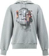 Juun.J graphic printed hoodie