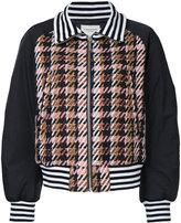 Public School Zita plaid bomber jacket