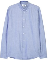 Soulland Goldsmith Pale Blue Cotton Oxford Shirt