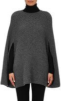 Barneys New York Women's Cashmere Poncho Sweater-DARK GREY