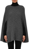 Barneys New York WOMEN'S CASHMERE PONCHO SWEATER