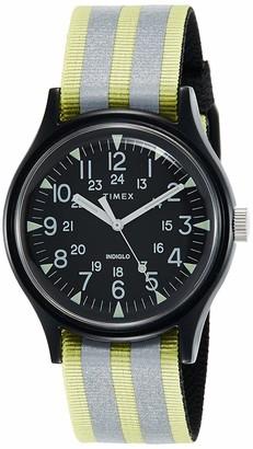 Timex Men's Analogue Quartz Watch with Fabric Strap TW2R80900