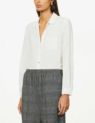Rails Noemi patch-pocket woven shirt