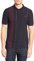 Fred Perry Men's Vertical Stripe Polo