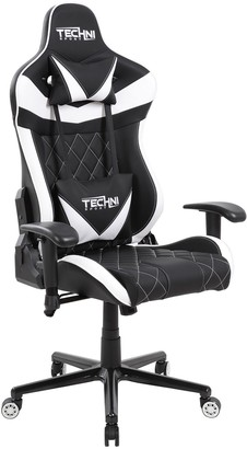 Techni Sport TS-XL1 Ergonomic PC Gaming Chair, White