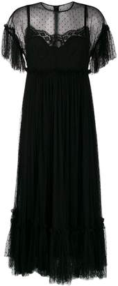 Dolce & Gabbana flared tulle dress