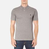Polo Ralph Lauren Men's Short Sleeve Slim Fit Polo Shirt Canterbury Heather