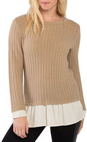 Kensie Warm Touch Crewneck Sweater