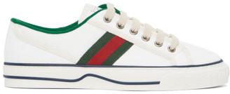 Gucci White GG Supreme Tennis 1977 Sneakers