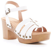 Restricted Cali Block Heel Sandal