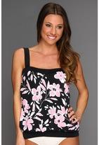 Miraclesuit Spring Fling Breezy Tankini Top Women's Swimwear